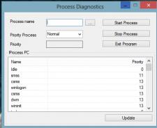 Управление процессами Windows