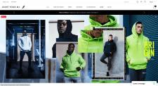 Shopify магазин спортивной одежды