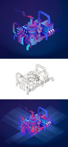 Иллюстрация для инфографики