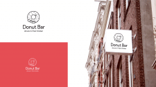Логотип для пекарни Donut Bar