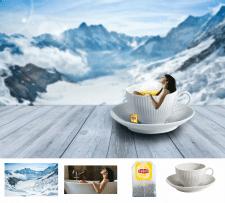 коллаж для любителей чая