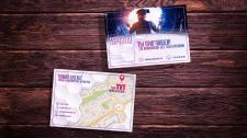 Дизайн пригласительного | визитки | баннеры