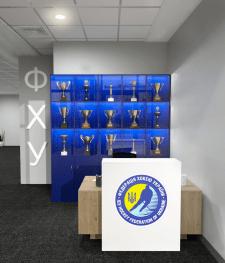 Визуализация офиса Федерации Хоккея