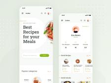 Recipes App | Сборник рецептов для телефона