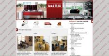 """Сайт для мебельного салона """"BUDMIX"""""""