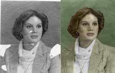 Реставрация старых фото в цвете