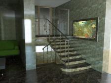 лестница темная