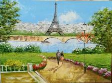 """""""Sous le ciel de Paris/Под небом Парижа"""""""