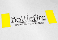 Логотип handcrafted candles