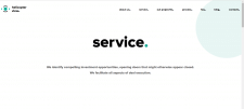 Сайт по оказанию услуг в области консалтинга
