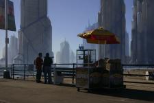 Скетч мегаполиса