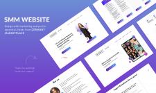 Дизайн сайта SMM тематики