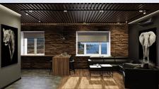 Дизайн интерьера кухни-гостиной. Г. Киев.