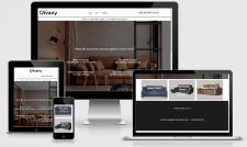 Сайт-визитка по продаже диванов