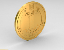 1 гривна Украины