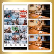 Имитация любого стиля в Instagram