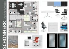 """Дизайн офиса компании """"SCHONHERR"""""""