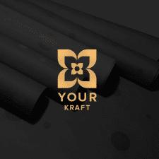 Логотип для производителя крафт бумаги