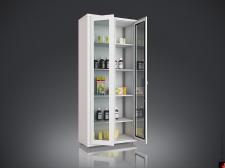 Шкаф для уборочного инвентаря а01