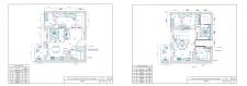 Перепланировка 2-комн. квартиры в 3-комн (65 м кв)