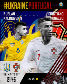 MATCHDAY! UKRAINE - PORTUGAL