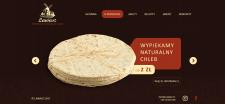 Дизайн сайта для пекарни «Lawasz»