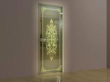 3D Модель двери для каталога