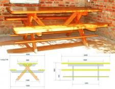 Дизайн и изготовление стола