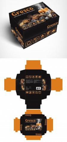 Конкурсная работа - упаковка для угля