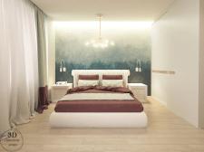 Спальня с романтичным настроением