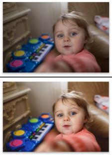 Кольорокорекція дитячого фото