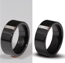 Предметная ретушь кольца