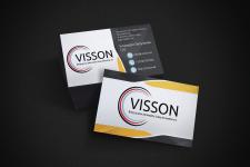 Визитка и фирменный стиль для компании Visson