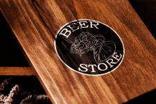 Логотип пивного магазина