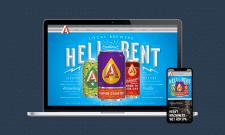 Веб сайт пивной компании