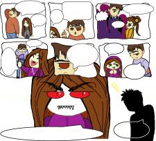 Шаблон комикса