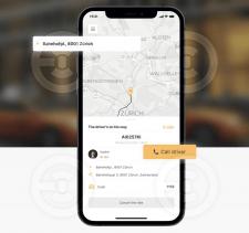 UX/UI Design taxi app