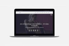 Персональный сайт для продажи авторских курсов