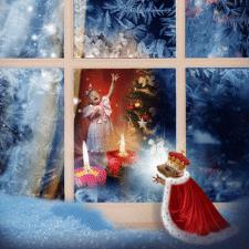 Иллюстрация Рождество