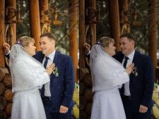 Свадебная ретушь (Photoshop+Lightroom)