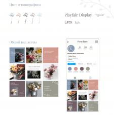 Оформление Instagram Магазина цветов