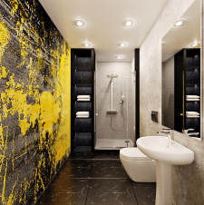 3D моделирование и визуализация ванной