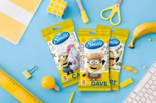 Smile wet wipes Minions