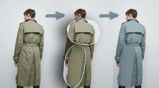 Розглаживание одежды, Замена цвета