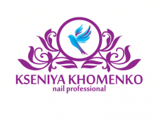 Логотип nail мастера