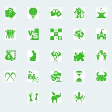 Иконки для сайта настольных игр