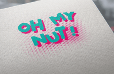 """Логотип для крафтовой кондитерской""""OH MY NUT!"""""""