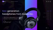 Интернет - магазин наушников от компании Suono