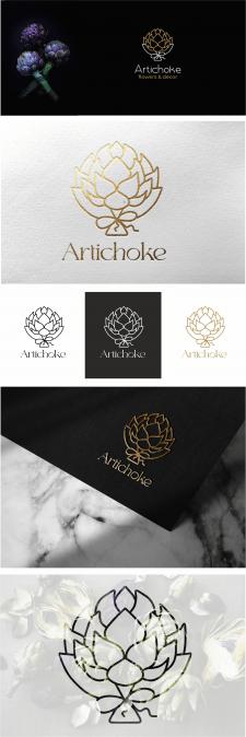 Лого для бренда декоративного артишока