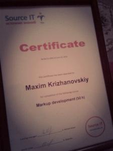 Markup development